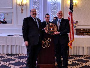 James Geier - 30 Years of Service, presented by Mayor Richard Goldberg.