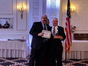 Mike Nelson - 35 Years of Service, presented by Mayor Richard Goldberg.