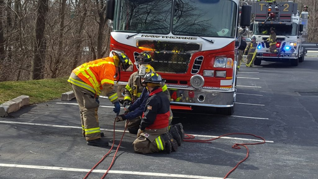 Dept  Drill Tests Responders Rescue Techniques