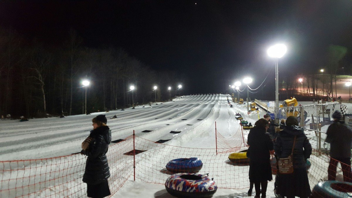 2017 February Fire Dept Family Snow Tubing Night