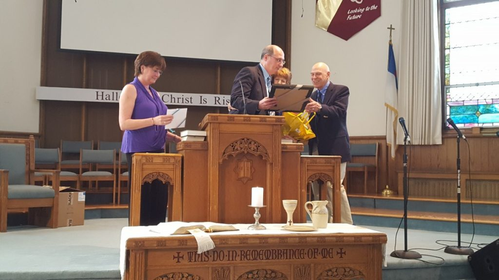 Chaplain Van Der Wall Retirement Service