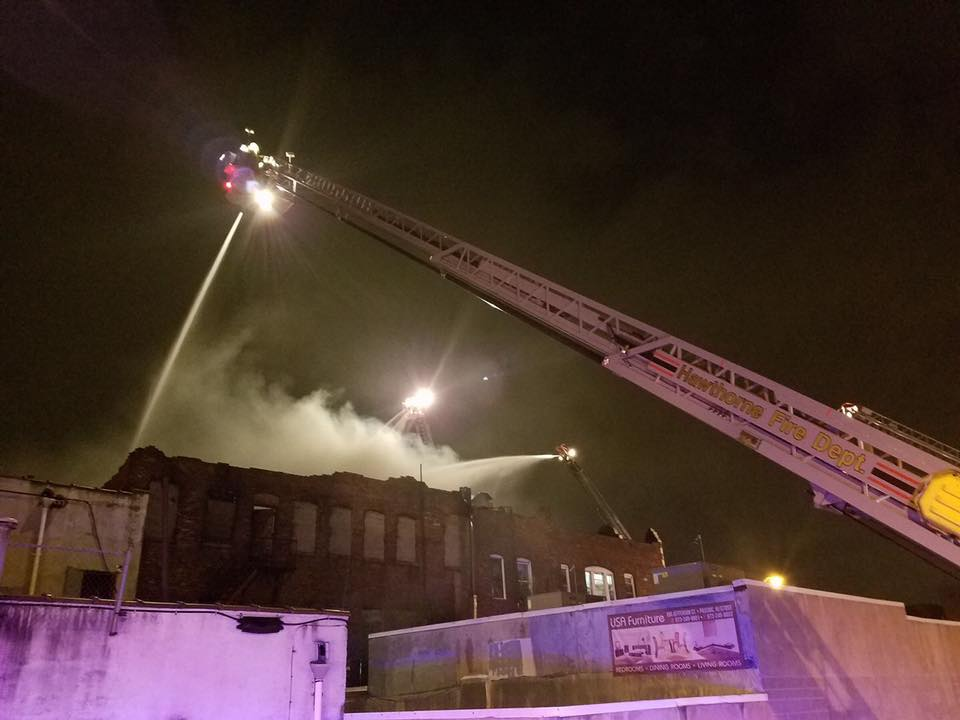 100 firefighters battled blaze in downtown Passaic