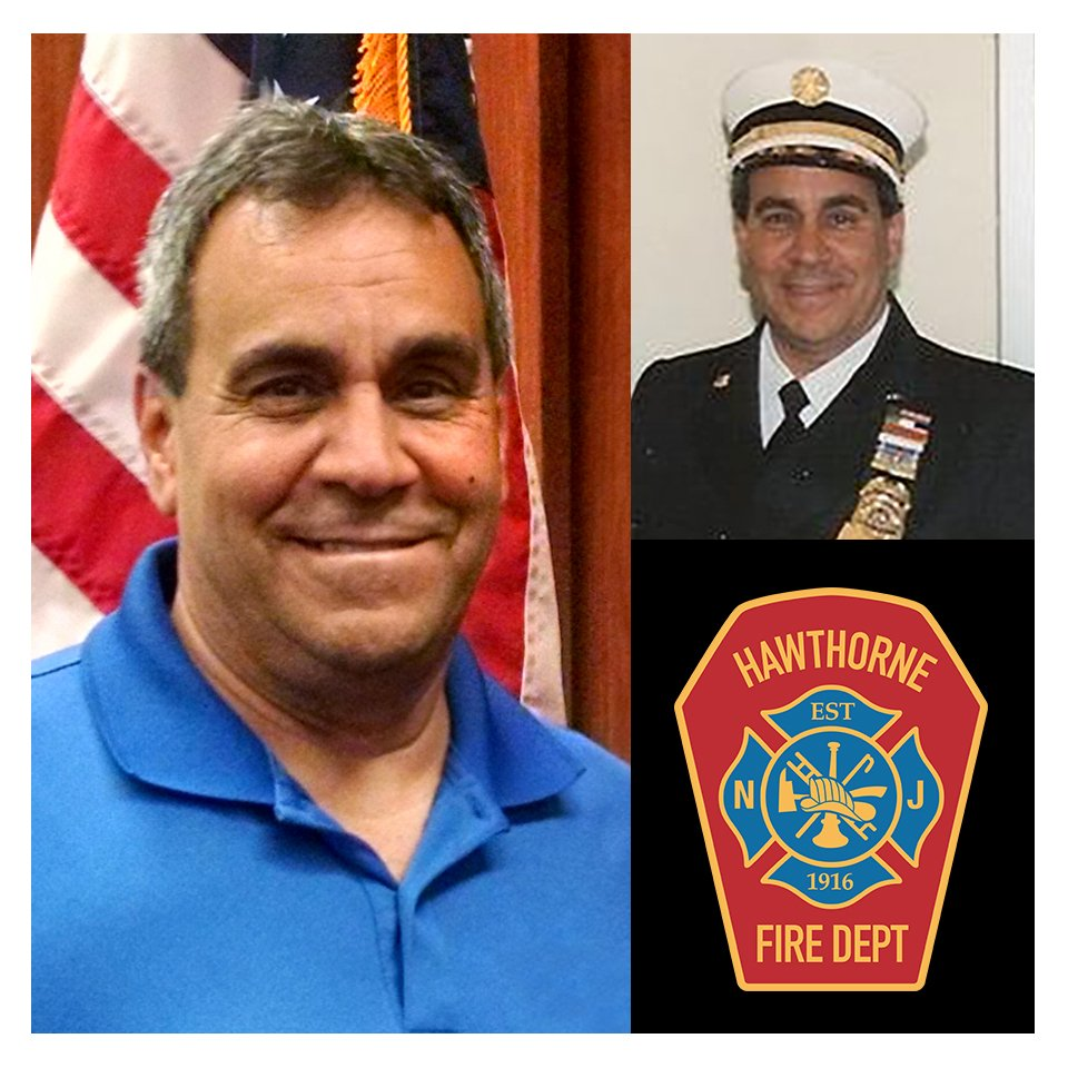 Chief Speranza elected to a new term of Hawthorne Borough Fire Chief