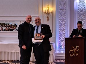 Christopher DiBella - 15 Years of Service, presented by Mayor Richard Goldberg.