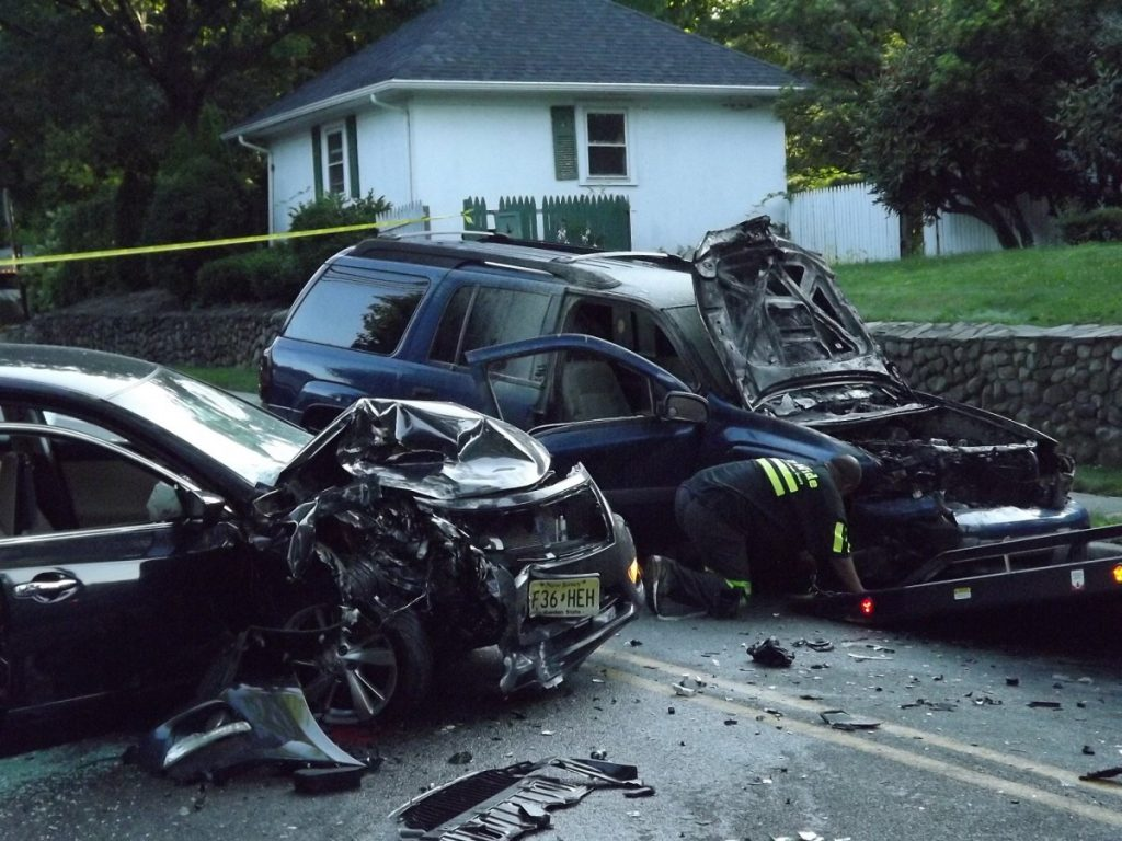 Responders Rescue Driver From Fiery Wreckage Of Head-On Glen Rock Crash